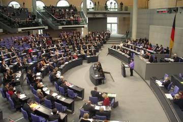 Eine Rede im Bundestag
