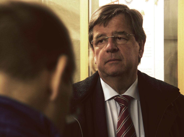 Finanzminister Willi Stächele