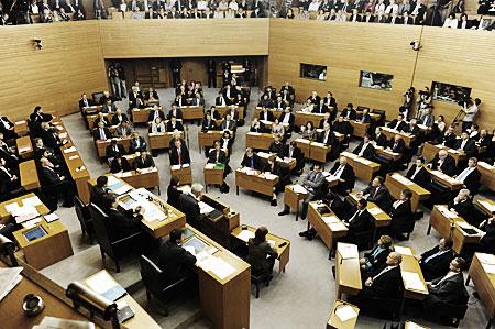 Der Landtag in Stuttgart. Foto: Landtag.