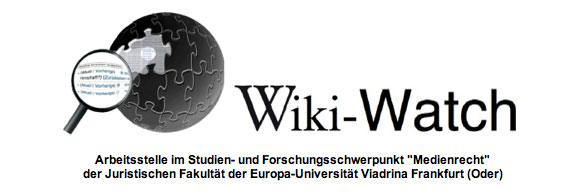 Screenshot von Wiki-Watch