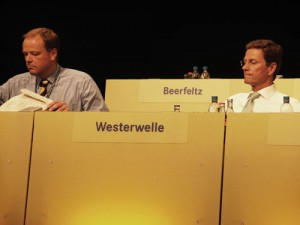 Guido Westerwelle. Foto: Landwehr.