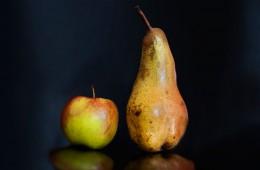 Werden Äpfel mit Birnen verglichen? Foto: Jonas Fischer.