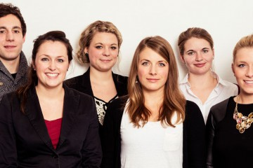 Die Redaktion. Foto: Julia Kneuse.