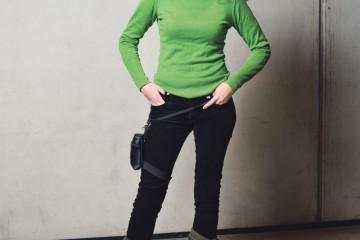 Maria Peteinaki. Foto: Jonas Fischer.