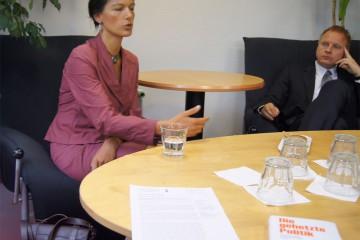 Sarah Wagenknecht. Foto: Landwehr