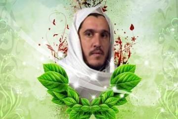 Blutzeugenbilder als dschihadistische Erinnerungskultur: Atiyatallah al-Libi, führender Kopf in der al-Qa'ida, getötet durch einen Drohnenangriff 2011.  Bild: Screenshot http://www.muslm.org/vb/showthread.php?474217