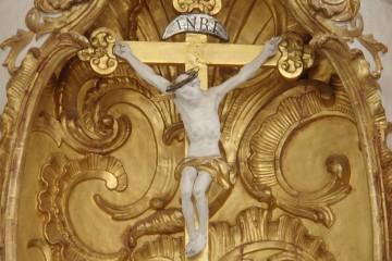 Jesus am Kreuz. Foto: Landwehr